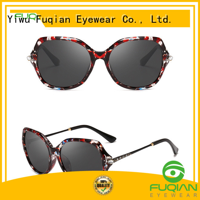 Fuqian ladies polarised sunglasses Suppliers for lady