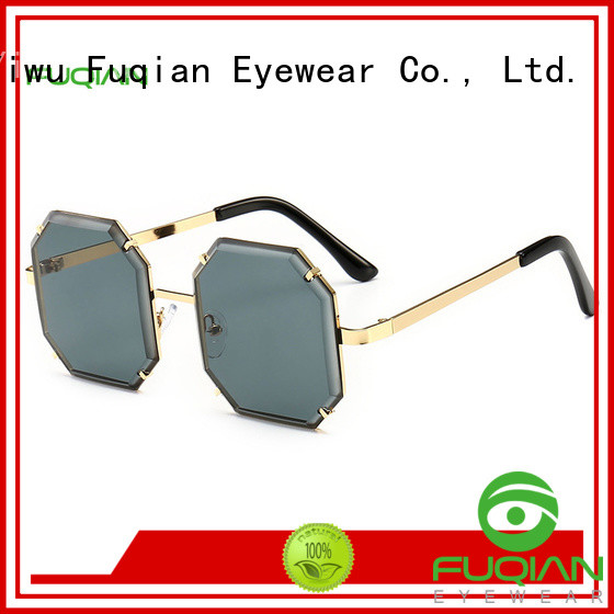 Fuqian girls large frame womens sunglasses manufacturers