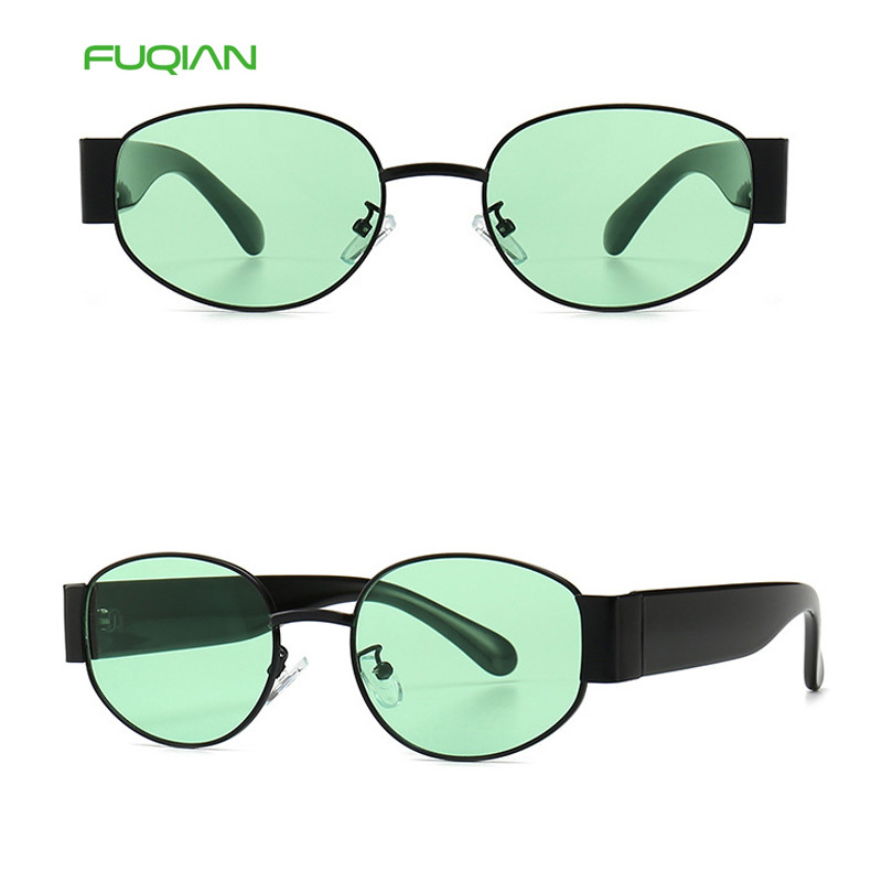 Fashion 2019 Newest Power Unisex Glasses Men Women Mirror Cat3 UV400 Oval SunglassesFashion 2019 Newest Power Unisex Glasses Men Women Mirror Cat3 UV400 Oval Sunglasses