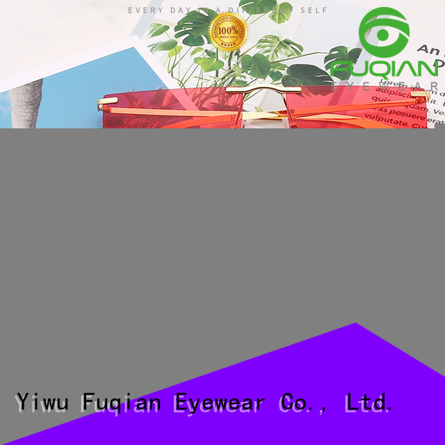 Fuqian lady sunglasses for men brands factory