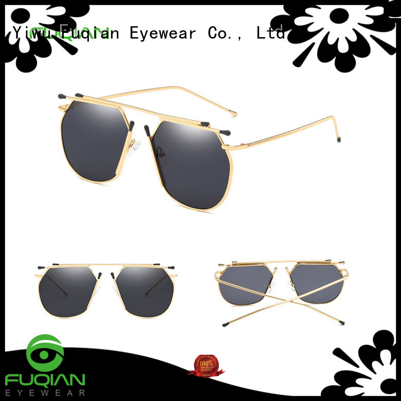 Fuqian mens designer sunglasses sale customized for women