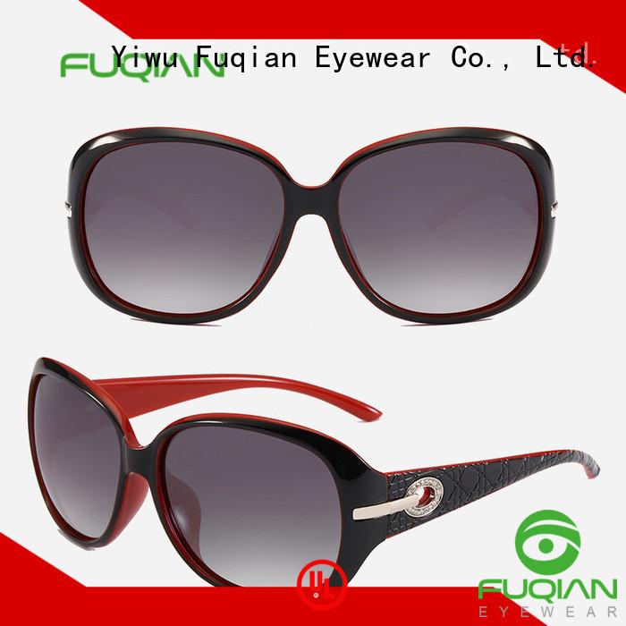 Fuqian oversized female sunglasses company for women