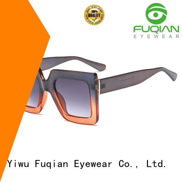 Fuqian lady unique womens sunglasses company