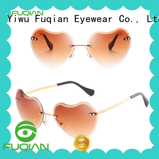 Fuqian women ladies sunglasses manufacturers