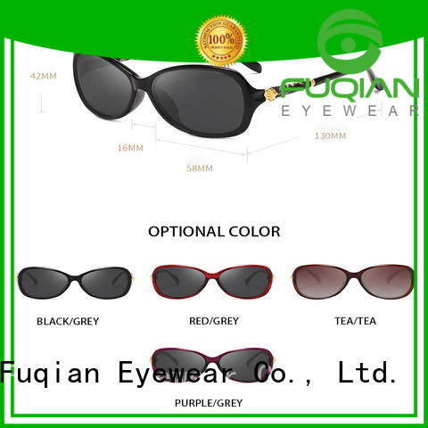 Fuqian Latest polarized driving glasses factory for lady