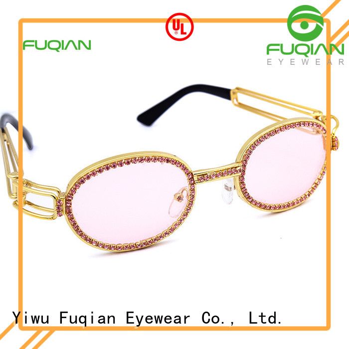 Fuqian women's polarized mirrored sunglasses for business for sport