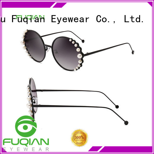 Fuqian High-quality women's square sunglasses factory for women