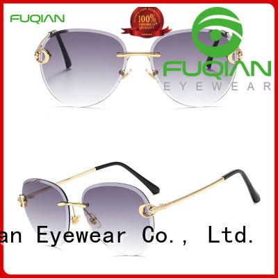 Fuqian lightweight polarized sunglasses for women company for lady