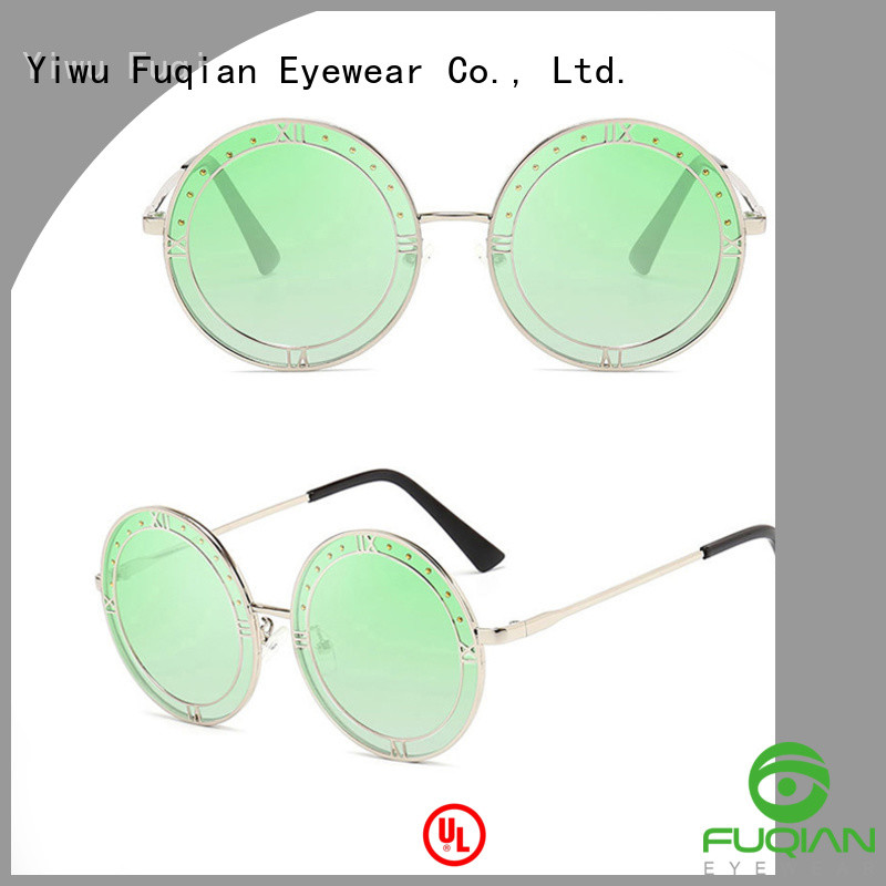 Fuqian women's polarized mirrored sunglasses factory for lady