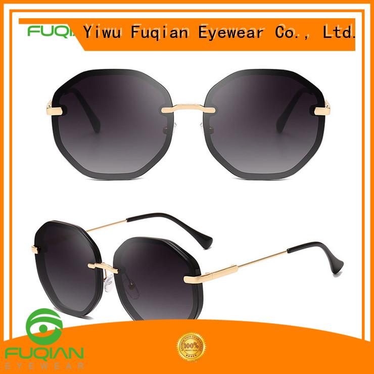 Fuqian Wholesale eye sunglasses customized