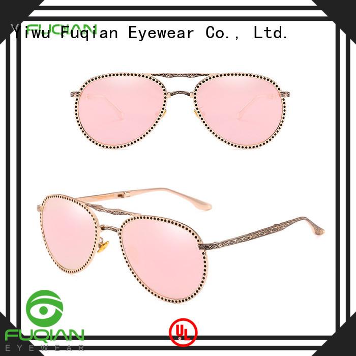 Fuqian women designer sunglasses wholesale customized for women