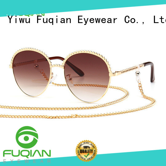 Fuqian wholesale fashion sunglasses ask online for lady