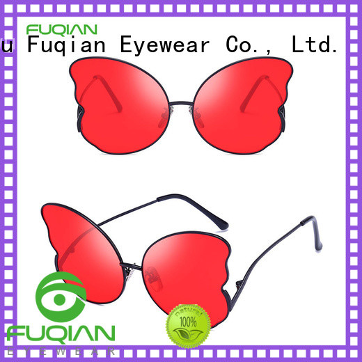 Fuqian girls polarized mirror sunglasses buy now
