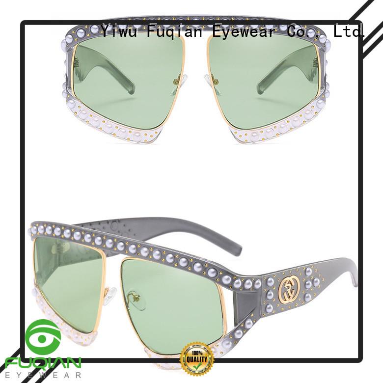 Fuqian womens polarized sunglasses customized