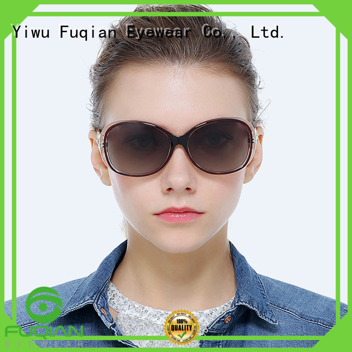 Fuqian lightweight stylish sunglasses for womens for business for racing