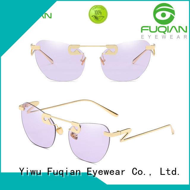 Fuqian girls blue polarized sunglasses company for racing