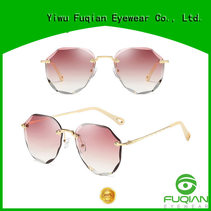 Fuqian Best womens gold sunglasses Suppliers for women
