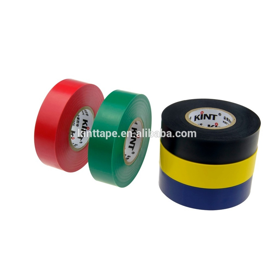 High quality Red PVC Insulation tape log rolls
