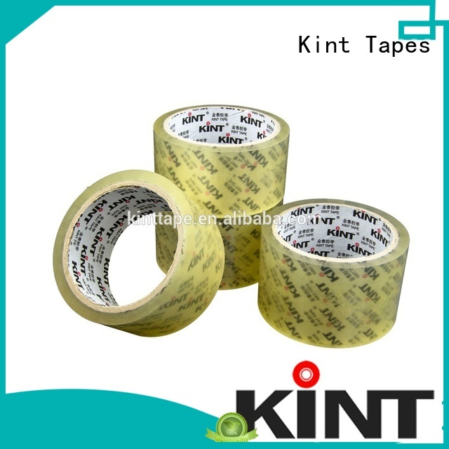 Kint transparentclear packing tape shop manufacturers for powder spraying