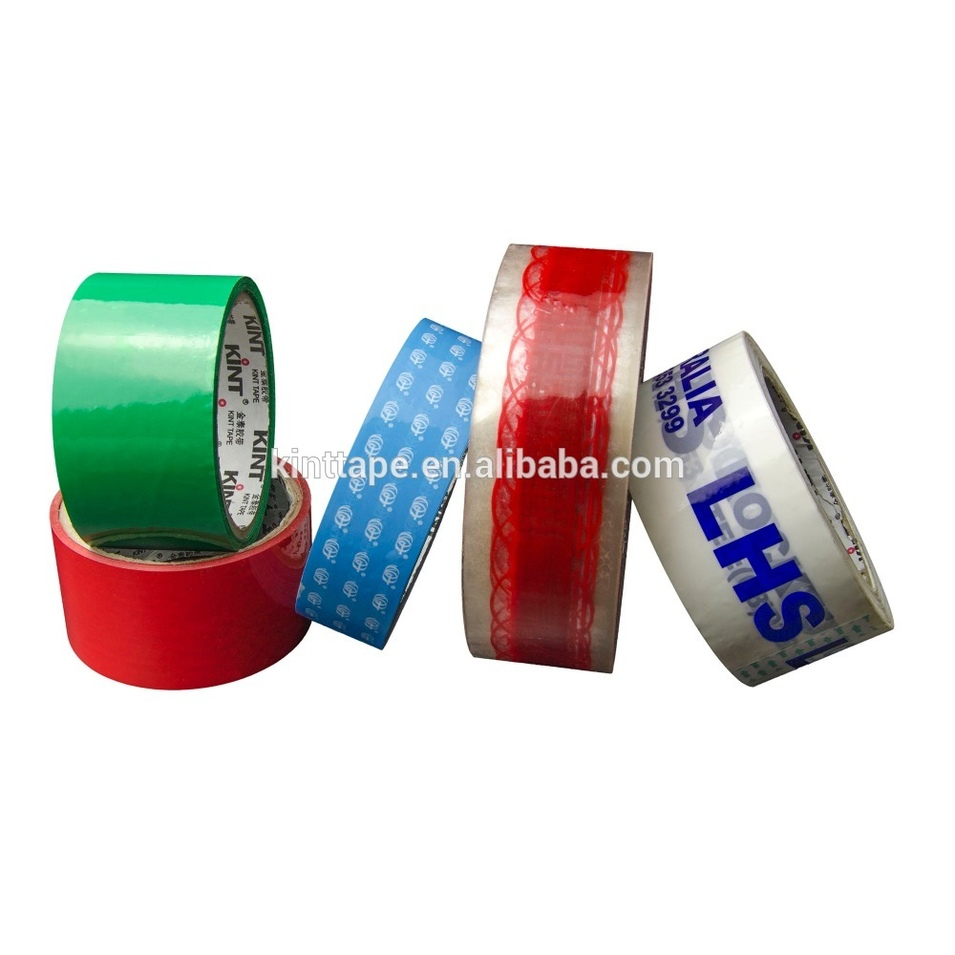 High quality Printed BOPP Packing Tape carton sealing tape printed Logo packing tape