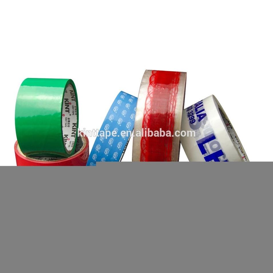 High quality custom printed logo BOPP packing tape carton sealing tape