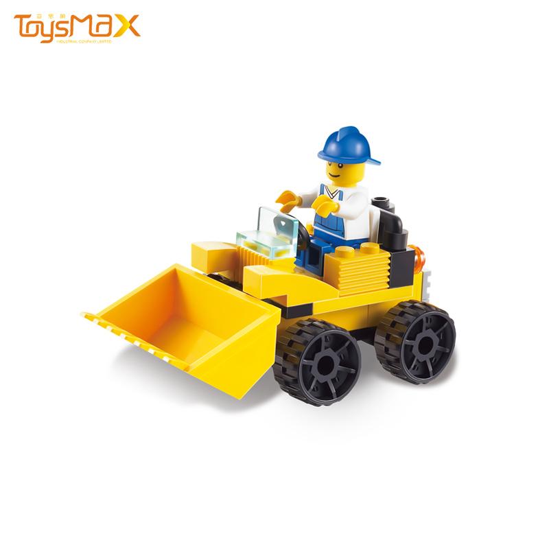 Excavator Truck Building Model Engineering Car Building Block Bricks Construct Toy
