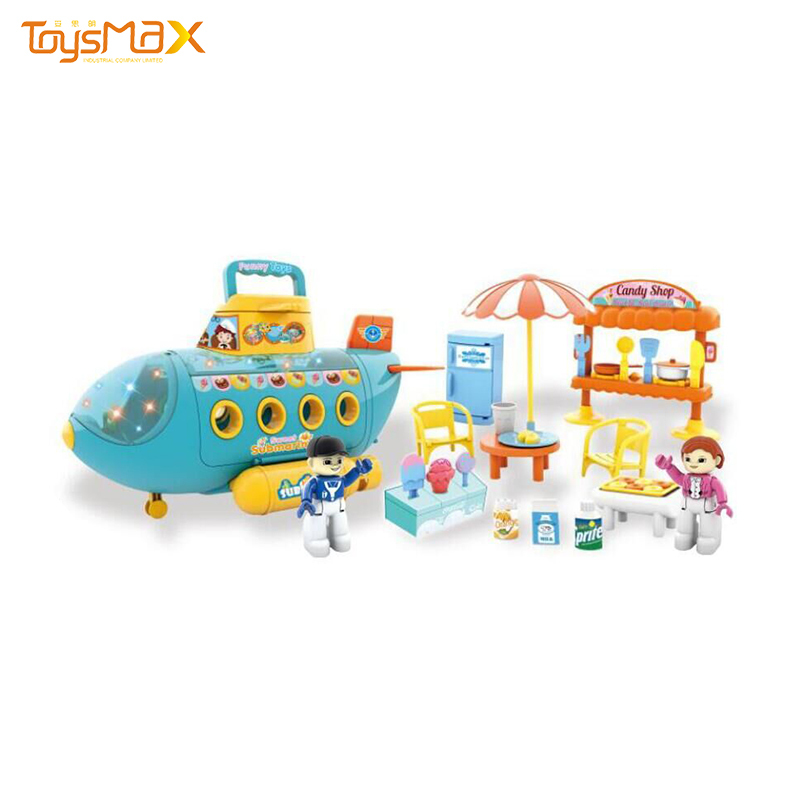 Quality kids pretend play game funny food submarine electric Toy