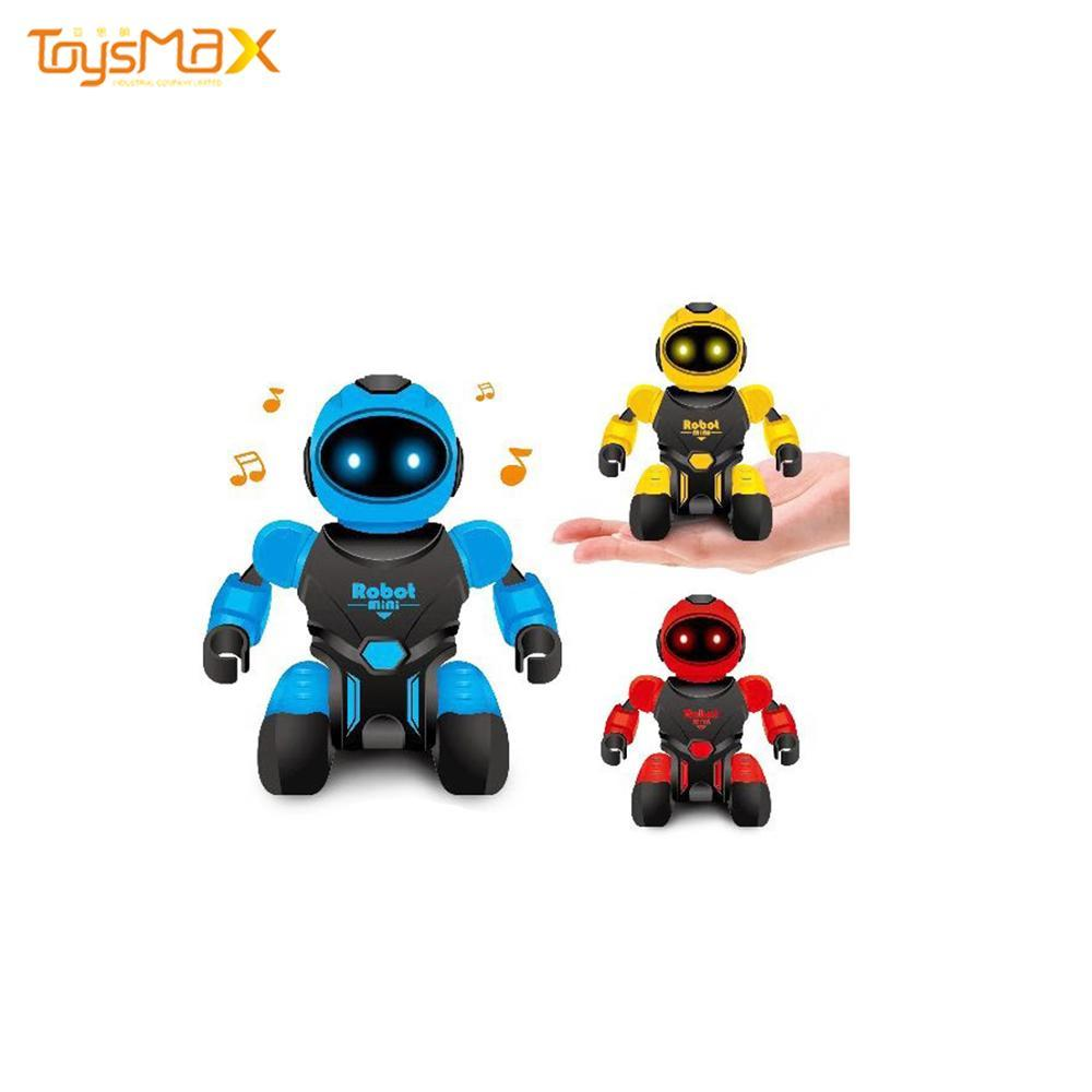 Amazon Hot sale Intelligent Robot Toys  Mini Rc Robot With Sound Light