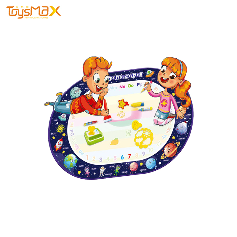 Amazon Best Selling Magic Doodle Mat Free Space Theme Writing Painting Educational Toys Water Drawing Mat