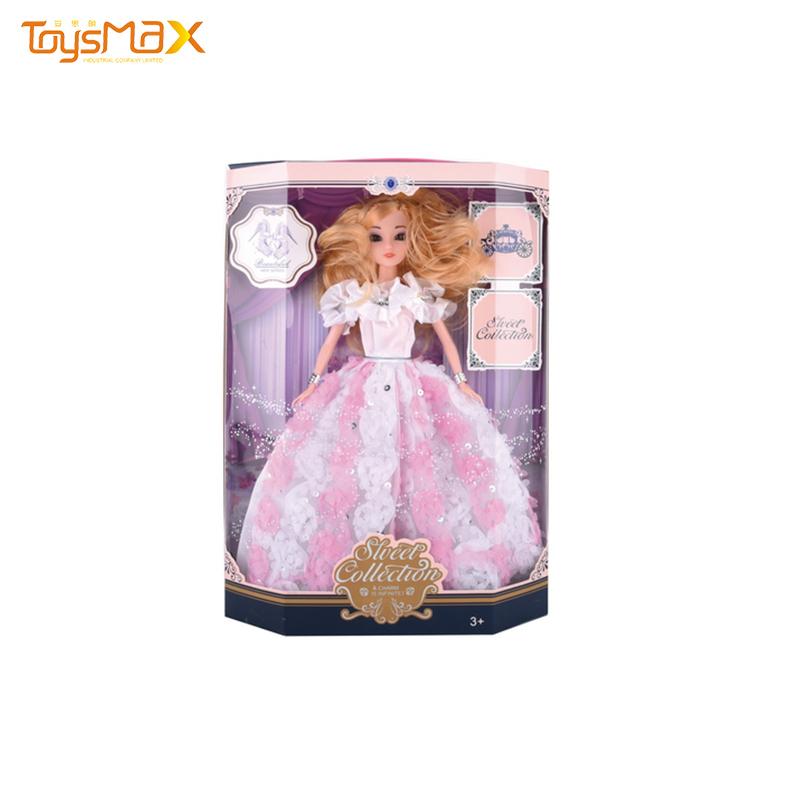 Fashion Princess Doll Reborn Silicone Baby Doll 11 inch Vinyl Soft Toy