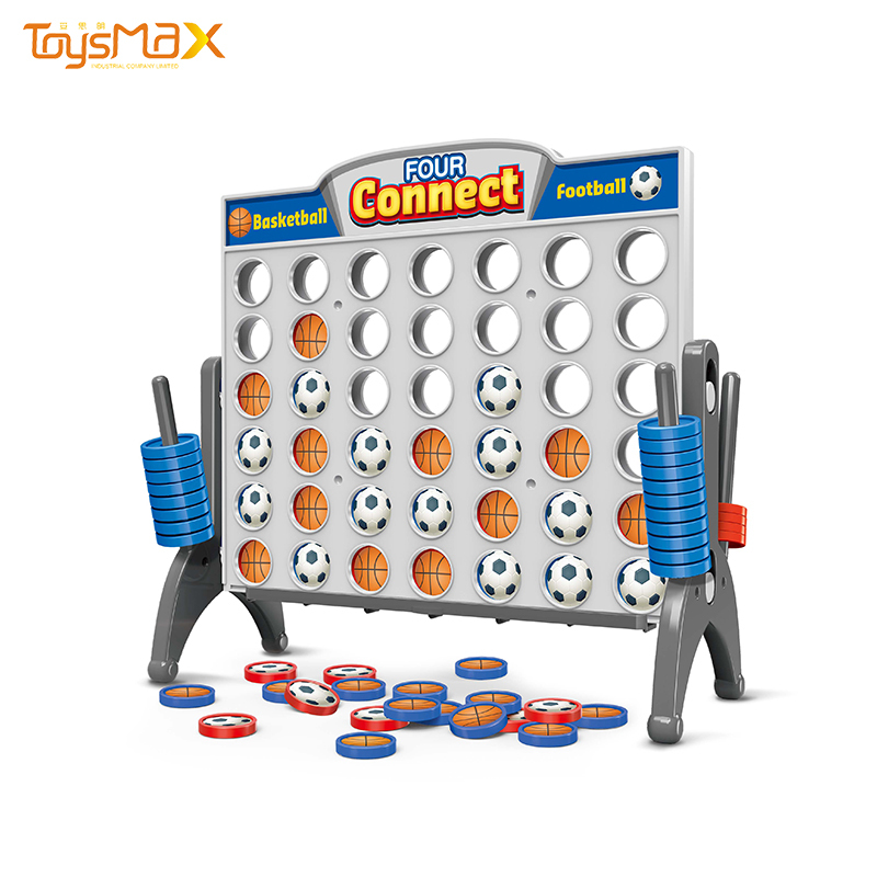 High quality Intelligence chess toy basketball and football connect four game