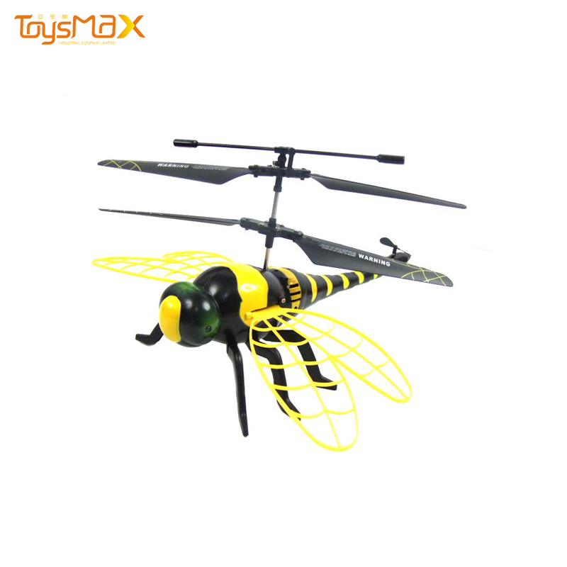 Amazon best sale 4.5 channel colorful fly dragonfly RC airplane with window box