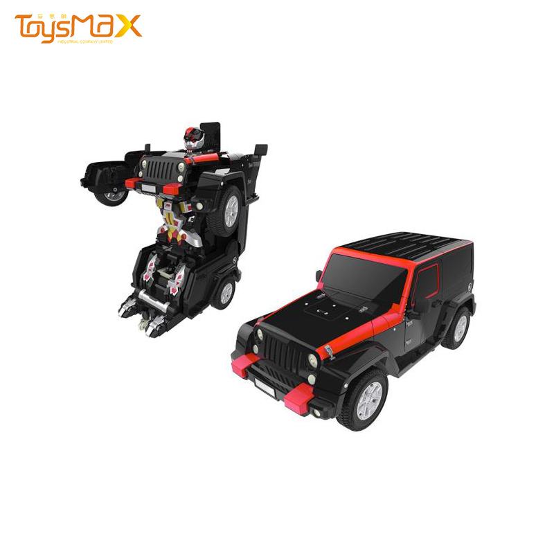 Electric Car Transform Toy Deformation Robot RC Model Car For Kids