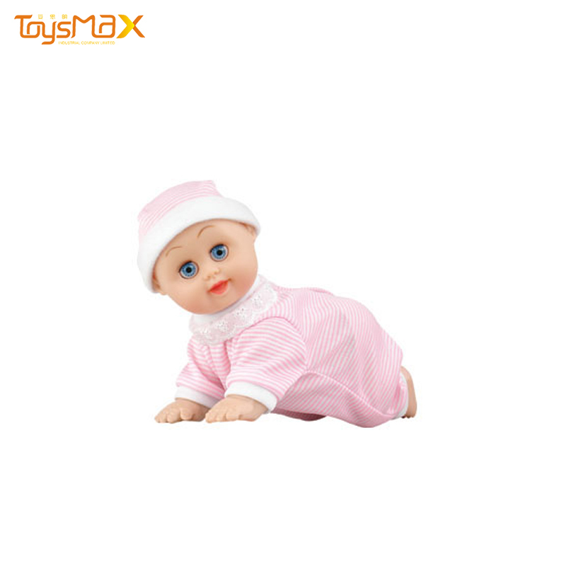 Cute Design Toy Doll 10-inch Electric Vocal Singing Dancing Crawling