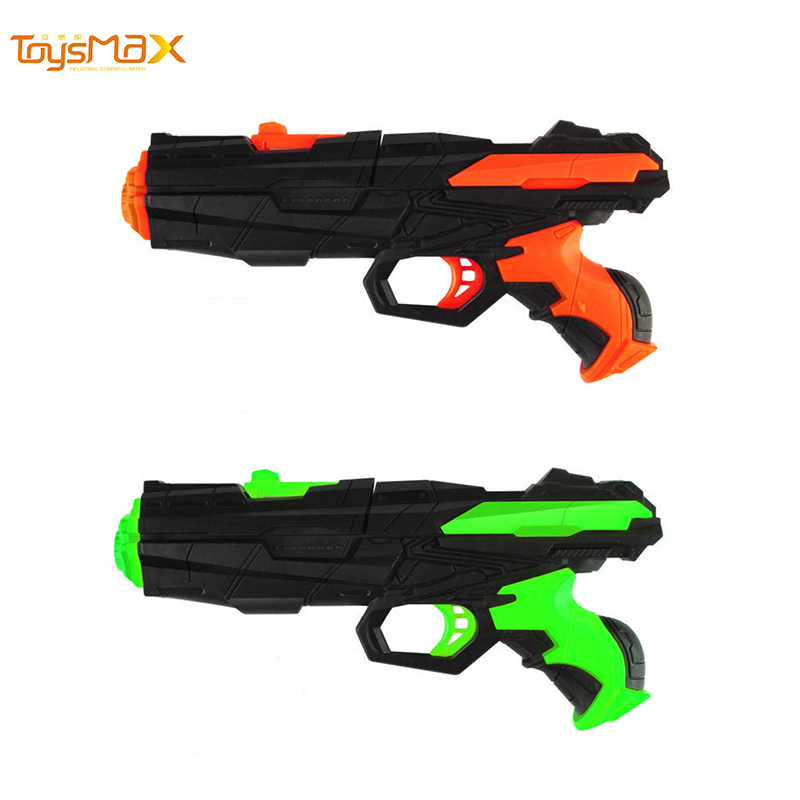 Kids summer toys 2 in 1 Cheap price Water Ball Gun With Soft Water Bullet EVA soft bullet gun toy outdoor toys