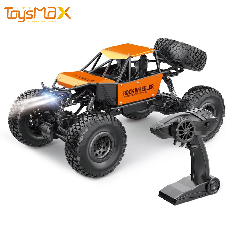 Amazon Hot Sale  Monster Remote Control  Off-Road Racing Alloy Truck 1/8 RC Car 4x4 High Speed