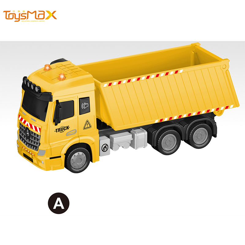 1:46 Scale New Popular Pull Back Alloy Engineering Truck Toys Battery operated Die Cast Model Truck