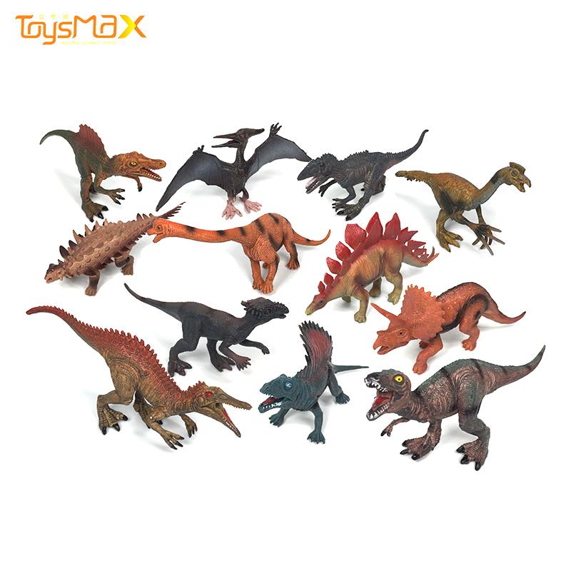 New arrival 12 models simulation small dinosaur early education science dinosaur toys