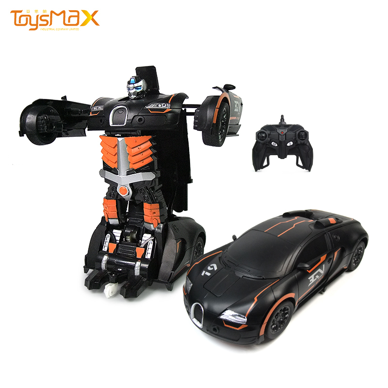 Deformation Robot 2 in 1 RC Robot Transform Model Car Toys