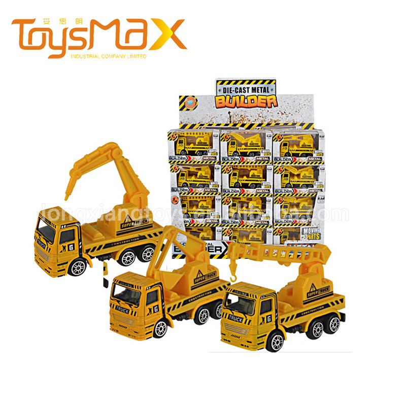Newest Arrival Pull Back Function Toy Forklift For Kids