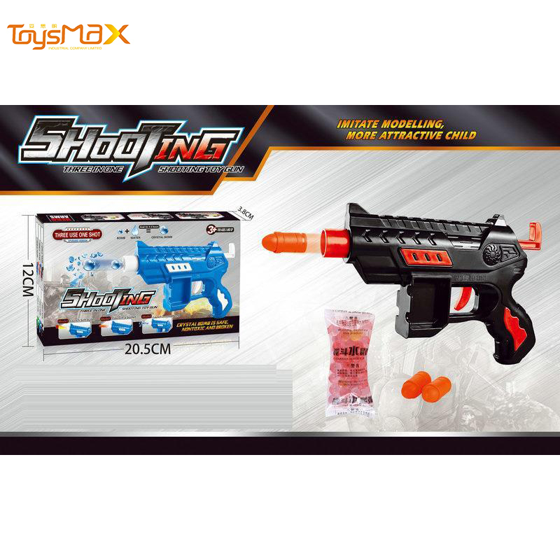 Hot Selling Safe And Cheap Kid's Small Soft Water Bullet Gun