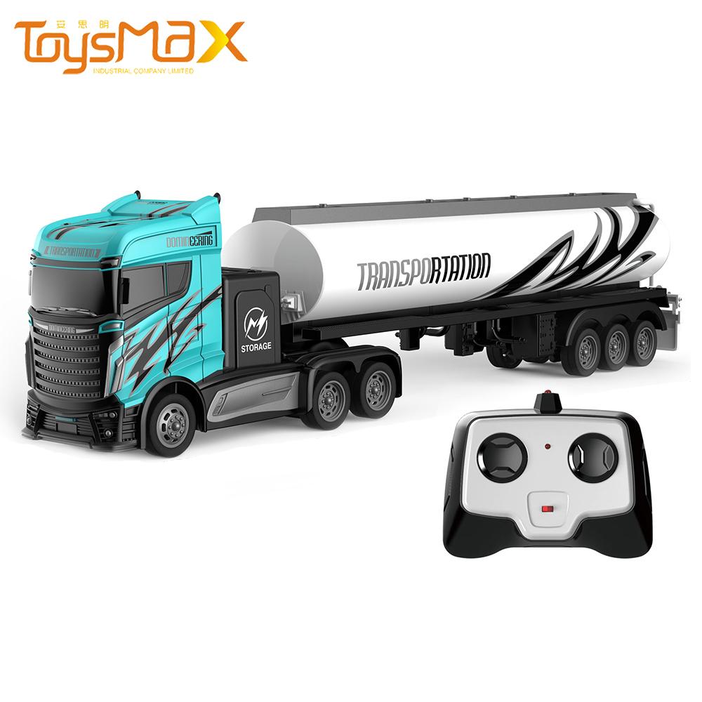 1:16 Remote Control Car 4 Channels RC Truck 2.4G  Trailer Toys Alloy  Radio Control Truck Kids Radio Control Car