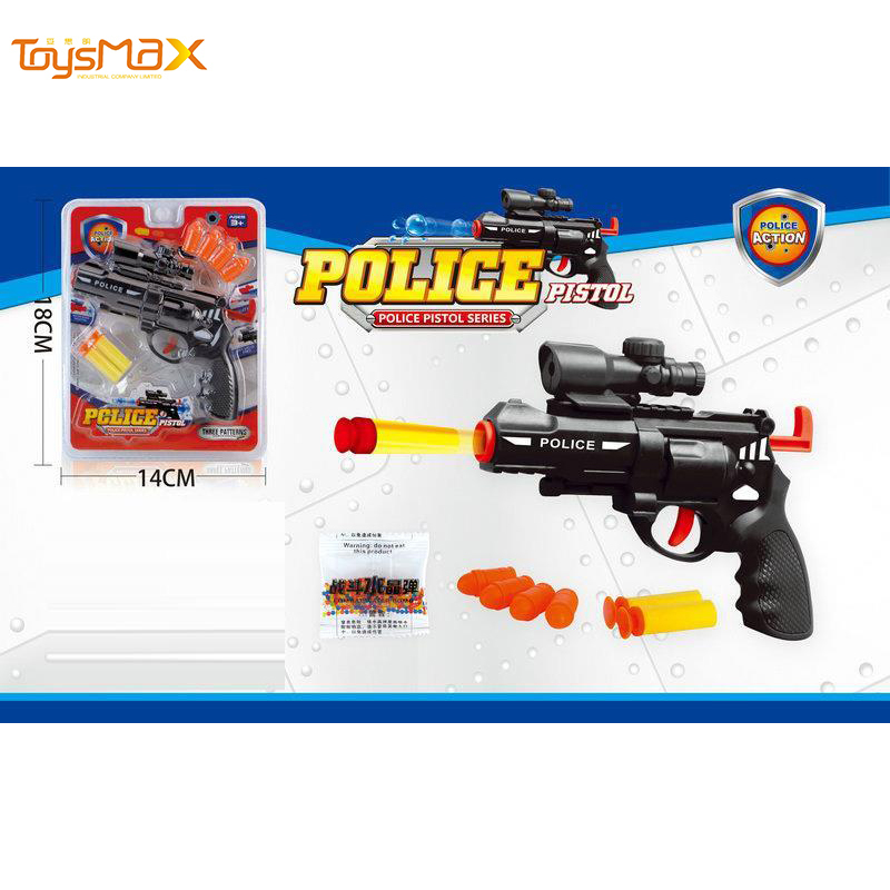 Competitive Price Air Soft Gun Plastic Kids Playing Toys With Water And Soft Bullets