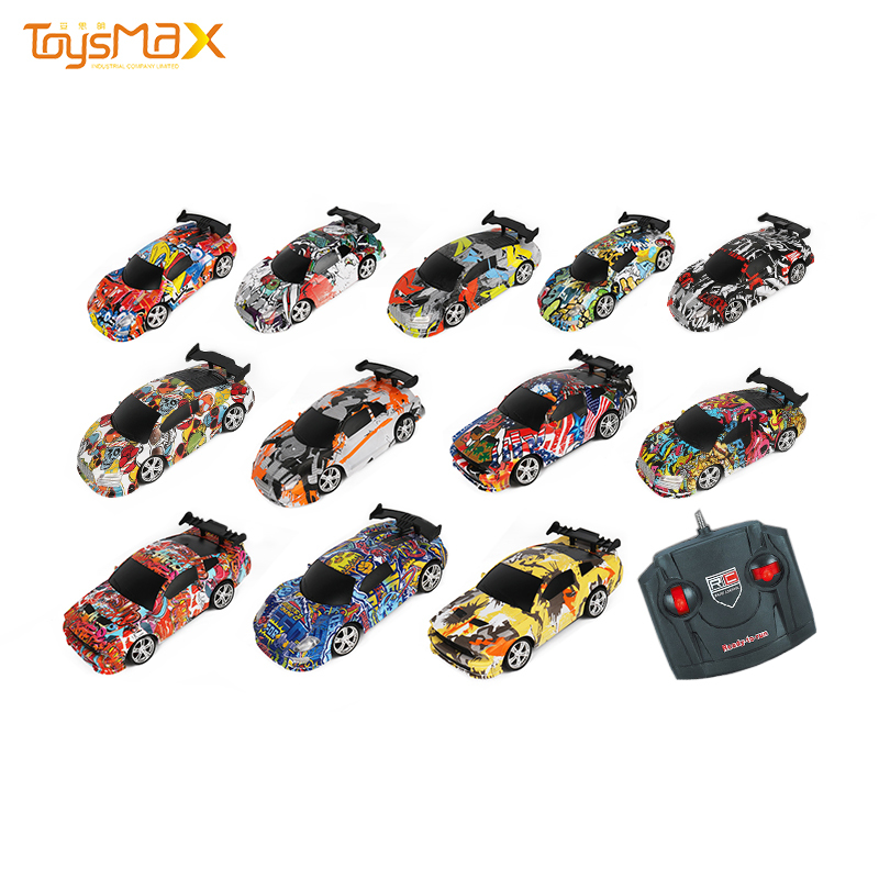 New products different style 1:22 watercolor RC remote control racing car
