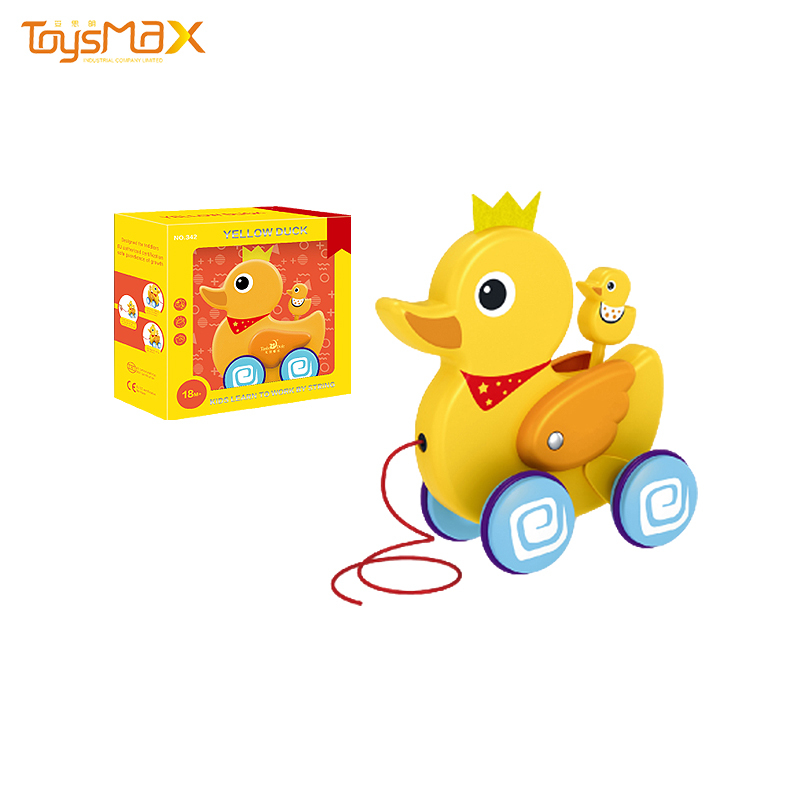 Wholesale Children animal pull along toys educational funny pull along toys kids pull back toy