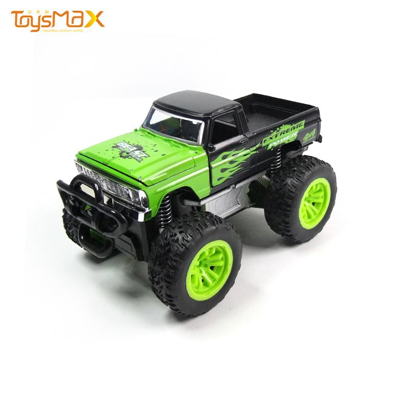 Hotsales 1:24  4 wheel drive truck Inertia alloy car model toys With Light