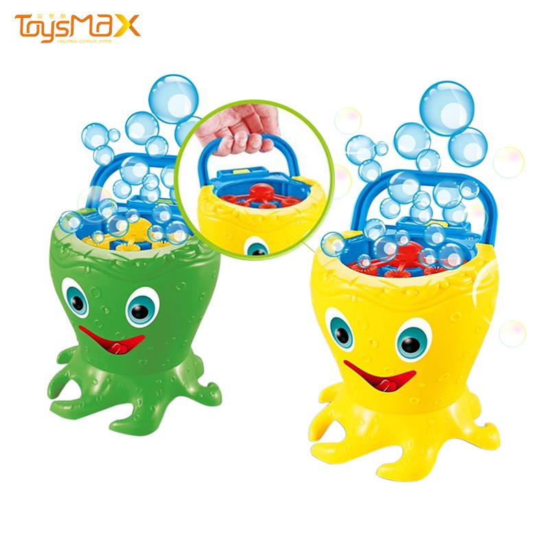 2020 New arrival creative design outdoor toys octopus electric bubble gun for kids