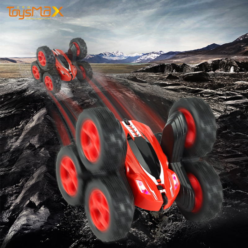 Kids 2.4Ghz six wheel watch control gesture control stunt car for wholesale