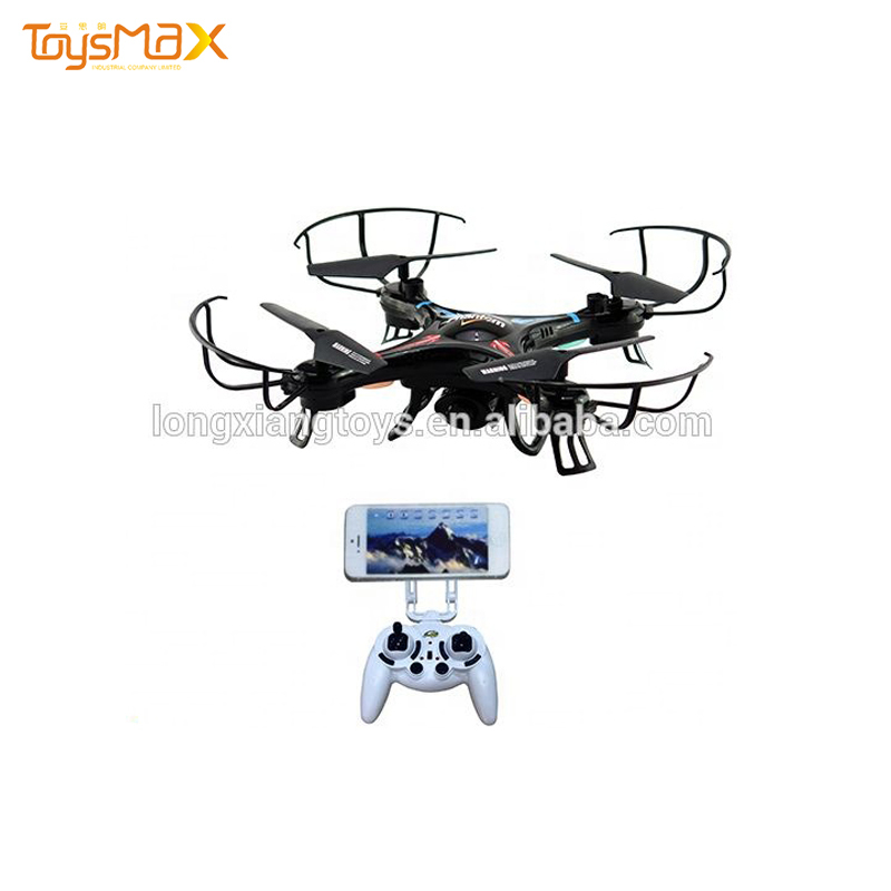Quad copters helicopter, 2.4G drone avec camera with colorful lights