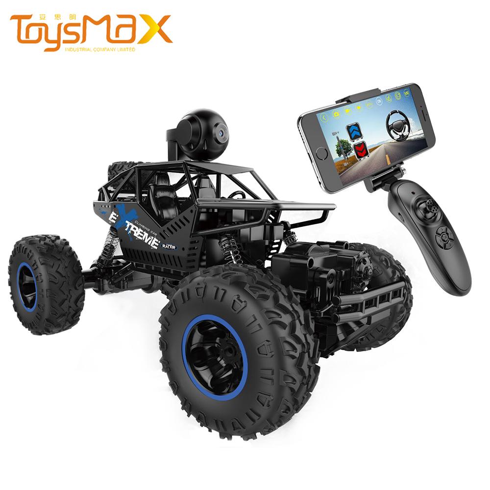 2.4GHZ 1/16 Climbing Alloy Radio Control Car Toys Remote Control Car Toys Racing RC Car Off-road Vehicle